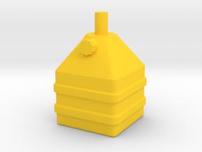 Tank Schneckenkornstreuer 1:32 Teil 1 in Yellow Processed Versatile Plastic