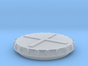 Deckel Schneckenkornstreuer 1:32 Teil 3 in Smooth Fine Detail Plastic