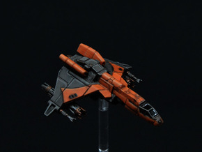 Vaksai Engine Booster Mod for Kihraxz Fighter in Frosted Extreme Detail