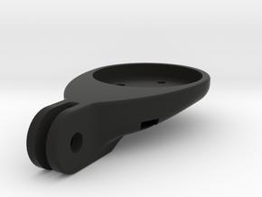 Computer mount for trek madone handle bars in Black Natural Versatile Plastic
