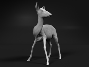 Impala 1:45 Watchful Female While Drinking in Smooth Fine Detail Plastic