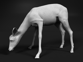 Impala 1:25 Drinking Female in White Natural Versatile Plastic