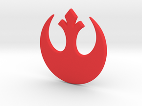 Rebel Alliance in Red Processed Versatile Plastic