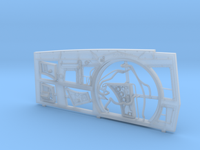 DeAgo Falcon Hold Starboard Wall ESB Conversion in Smooth Fine Detail Plastic