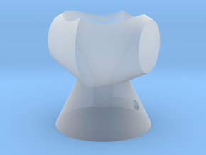 盔甲 in Smooth Fine Detail Plastic
