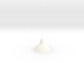 創意吊燈 in White Strong & Flexible Polished