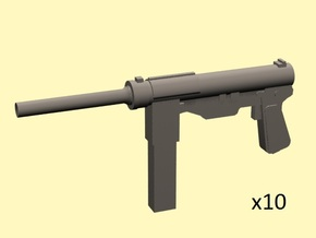 28mm M3 Grease Gun in Frosted Extreme Detail