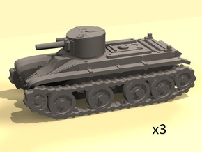 1/160 scale BT-2 tanks in Frosted Ultra Detail