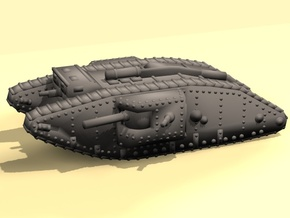 1/160 Mk.IV Male tank in Smooth Fine Detail Plastic