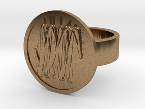 Harmonic Ring in Natural Brass: 8 / 56.75