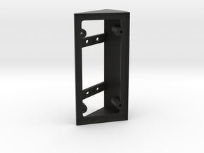 Ring Doorbell Angle Bracket/Wedge 40Right in Black Strong & Flexible