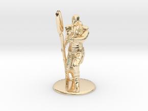 Jaffa Firing Zat 35 mm new in 14k Gold Plated Brass