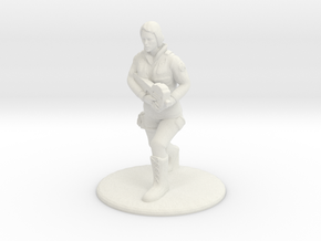 SG Female Soldier Running 35 mm new in White Natural Versatile Plastic