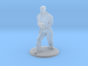 SG Male Soldier Creeping 35 mm new in Smooth Fine Detail Plastic