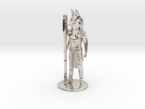 Jackal Guard at Attention 35 mm new in Platinum