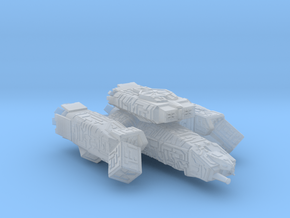 USCSS Nostromo in Smooth Fine Detail Plastic
