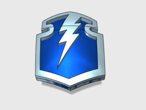 60 Storm Shields : Shoulder Insignia pack in Frosted Extreme Detail