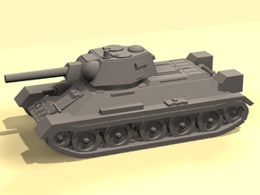 1/144 scale  T-34 tank in Smooth Fine Detail Plastic