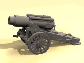 Steampunk Heavy Mortar in White Strong & Flexible