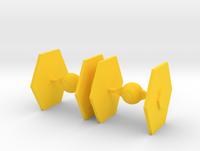 Star Wars Knights in Yellow Processed Versatile Plastic