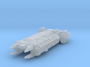 carrier ship in Smooth Fine Detail Plastic