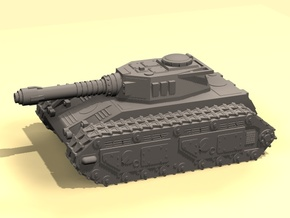 15mm MST Tiran tank in White Strong & Flexible Polished