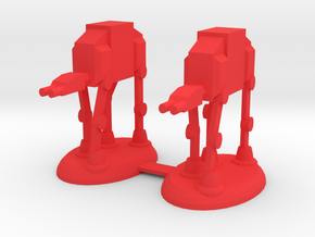 Star Wars Rooks in Red Processed Versatile Plastic