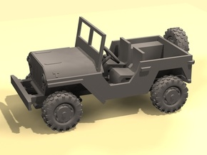 1/100 Jeep 4x4 in Frosted Ultra Detail