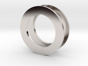 Fidget Spinner Tourus 2z Caps in Platinum