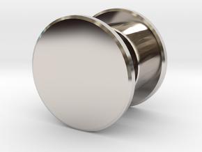 Fidget Spinner Tourus Center Caps in Platinum