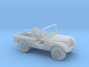 1:76 Centre Steer Prototype Series in Frosted Extreme Detail
