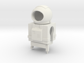 Mini-Mates Astronaut Spacesuit Set (Space: 1999) in White Natural Versatile Plastic