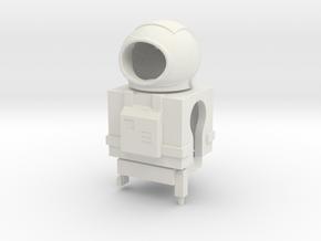 Mini-Mates Astronaut Spacesuit Set (Space: 1999) in White Natural Versatile Plastic