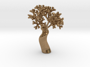 A fractal tree in Natural Brass