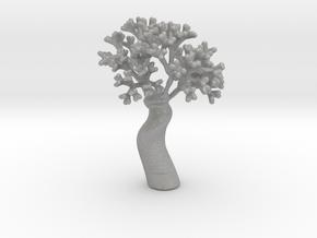 A fractal tree in Aluminum