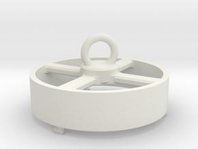 tube sponge-top in Aluminum: Small