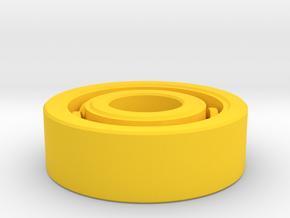 Bearing in Yellow Processed Versatile Plastic