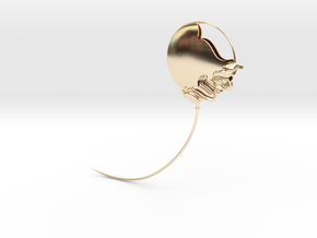 The Geminate Brooch - SMK in 14k Gold Plated Brass