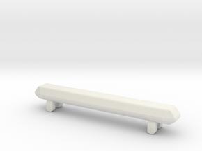 1/87 Philadelphia KME HR Lightbar in White Natural Versatile Plastic