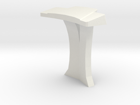Console Type 1 (Star Trek) in White Natural Versatile Plastic: 1:30