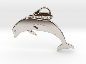 Unusual Ocean Friends in Rhodium Plated Brass: Large