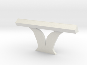 Console Type 8 (Star Trek) in White Natural Versatile Plastic: 1:30