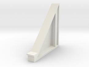 Tunnel biais cote droit in White Natural Versatile Plastic