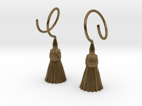 Tassels in Natural Bronze