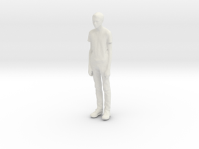 Printle C Kid 196 - 1/24 - wob in White Natural Versatile Plastic