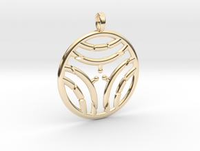 WINTER WATERS in 14K Yellow Gold