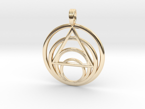 ISLAND PARADISE (light) in 14K Yellow Gold