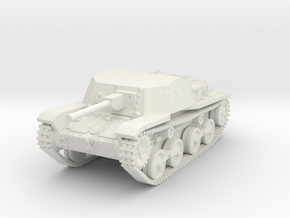 1/87 (HO) Type 5 Ho-Ru tank destroyer in White Natural Versatile Plastic