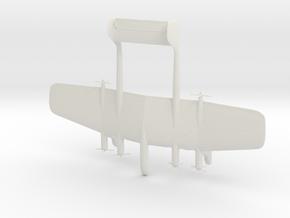 1:285 Daimler Benz Project C in White Natural Versatile Plastic