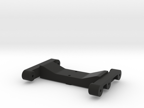 Rear Chassis Brace for TRX-4 in Black Natural Versatile Plastic